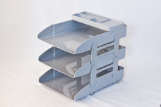 3 Layers Office Tray with Pen Organizer