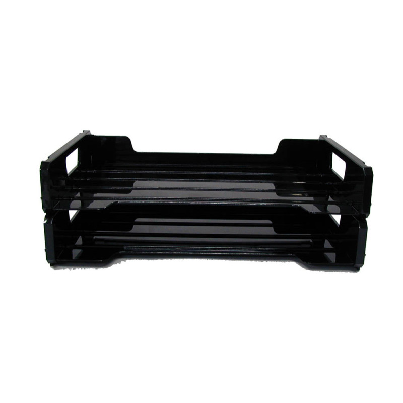 Double-Layered Opening Tray