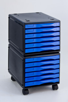 Mobile Drawer in Blue