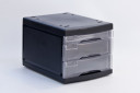 3 -Level Drawer in Clear Black