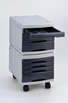 8 Levels Moveable Storage Cabinet