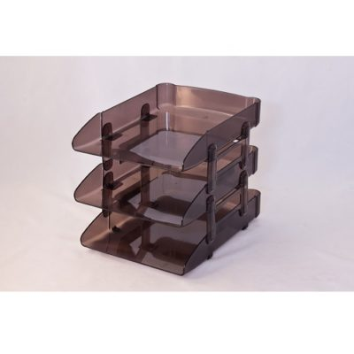 Triple- Layered Desktop Tray
