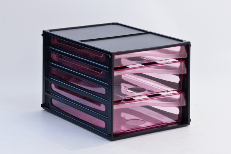 Transparent File Cabinet