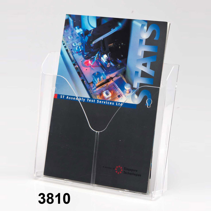 Single- Layered Brochure Holder