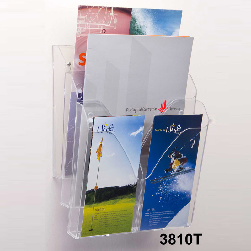 3 Layers Brochure Holder
