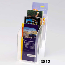 Four-Layered Brochure Holder