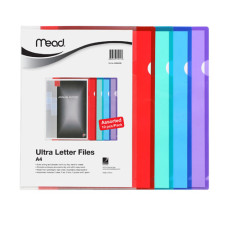 MEAD Ultra Color Letter Files