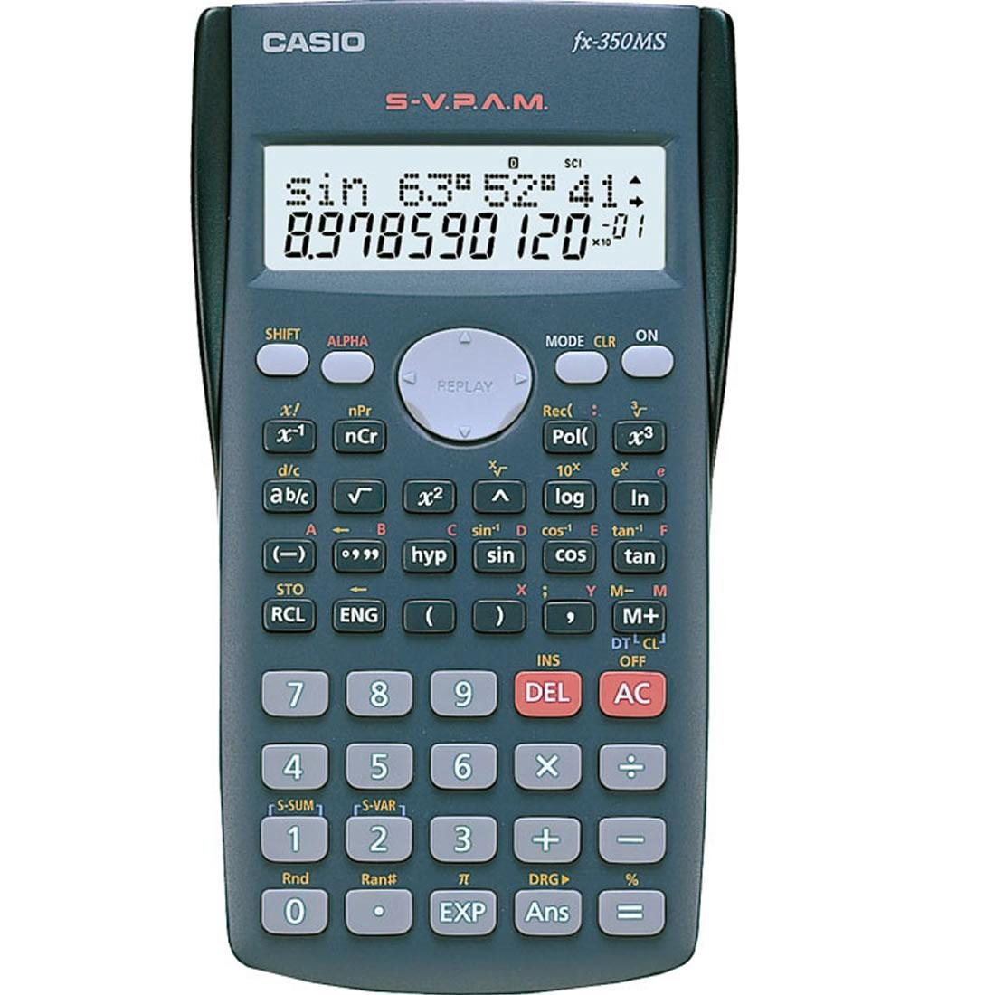 Casio Calculator Fx 350ms Shopwego