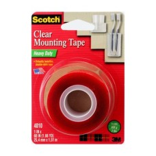 "4010 Scotch® Heavy Duty Mounting Tape 1"" x 60"""