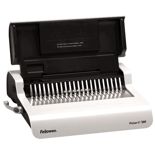 Pulsar™ E 300 Electric Comb Binding Machine w/Starter Kit