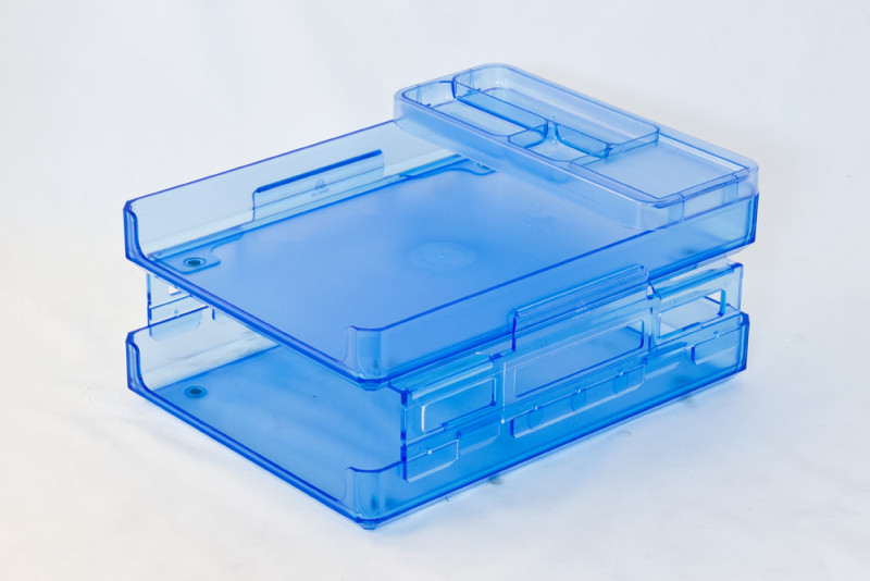 Document Tray with Pencil Organizer