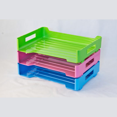 Document Tray with Side Opening