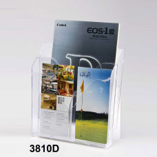 Double- Layered Brochure Holder
